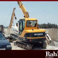 مینی بیل R60 هیوندای