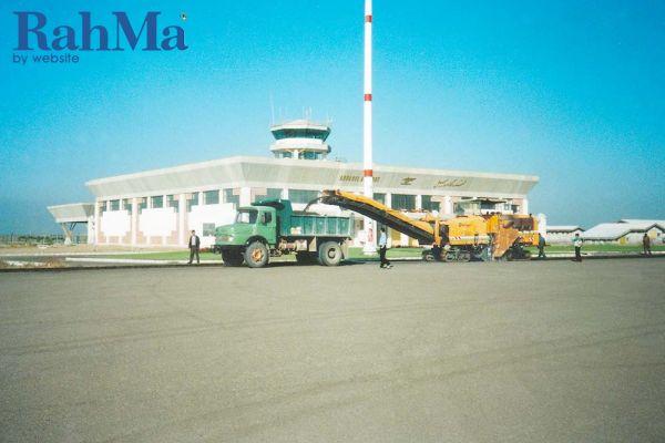 تثبیت و تسطیح فرودگاه اردبیل