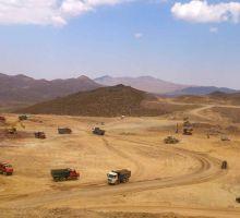 آماده سازی محل کارخانه و ساختمانهای وابسته و جانبی پروژه معدن مس دره آلو