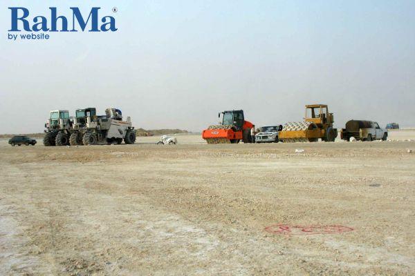 تثبیت اراضی سایت 2 منطقه ویژه