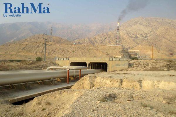 عملیات کالورت تاسیساتی و اسلیپرهای مسیر از ورودی نیروگاه تا اتوبان کشوری