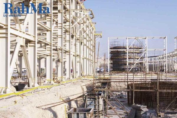 عملیات ساختمانی ، سیویل صنعتی و لوله کشی زیرزمینی (واحد شیرین سازی مجتمع پتروشیمی بوشهر) (UG) -