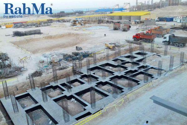 اجرای عملیات سیویل صنعتی، ساختمان و خطوط لوله زیرزمینی پروژه و احد هوا (ASU)