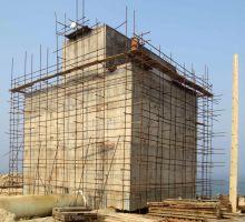 عملیات احداث سیستم تخلیه آبهای گرم خروجی واحدهای اتیلن