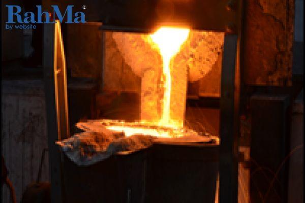 ریخته گری انواع فولاد و چدن به روش ماسه و CO2
