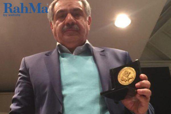 مراسم اهدای نشان عالی به مدیر شایسته ملی