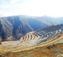 فعالیت های تولیدی و اجرایی معدن مس سونگون