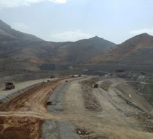 پروژه احداث سد مخزنی قشلاق صحنه