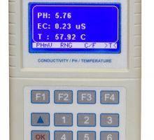 اندازه گیری EC، PH و دما