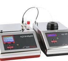 دستگاه اندازه گیری مقدار گاز H2S در نفت خام مایع