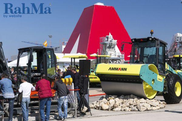 نمایشگاه ماشین آلات ساختمانی، راهسازی و معدنی مونیخ آلمان بائوما 2016
