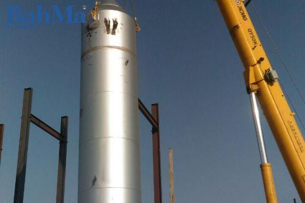پروژه انجام شده در قزاقستان