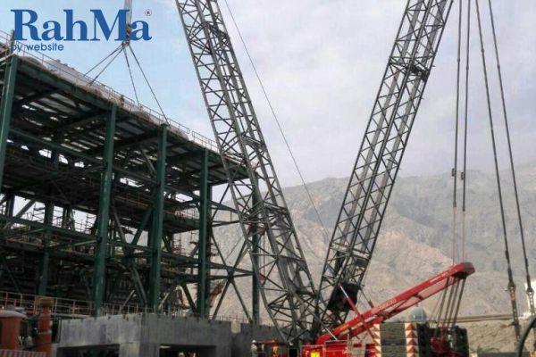 پتروشیمی مرجان - جرثقیل 350 تن ترکس