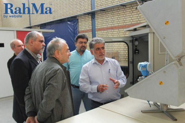 بازدید مدیران شرکت کالای پتروشیمی از کارخانه شرکت بین المللی انتقال فن غرب 1396