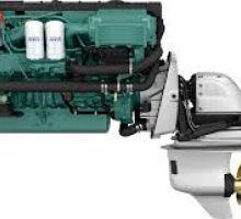 موتور ولوو پنتا D6-300