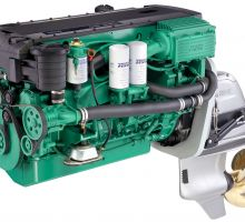 موتور ولوو پنتا D6-330