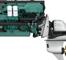 موتور ولوو پنتا D6-370
