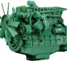 موتور دیزل صنعتی ولوو TAD722VE