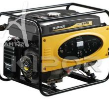 موتور ژنراتور های گازی و بنزینی کیپور KGE6500X