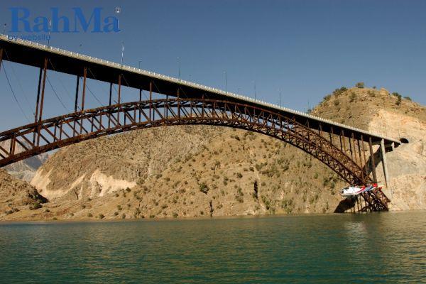 پل های قوسی سد کارون ٣