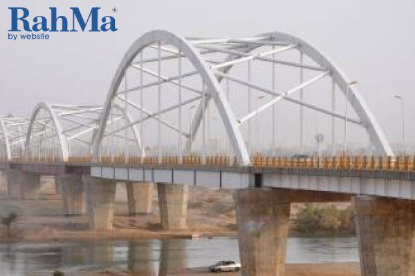 پل شوشتر بر روی رودخانه شطیط