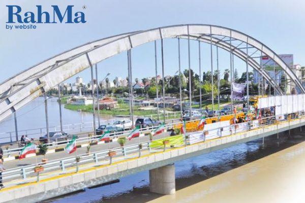 طراحی، ساخت و نصب پل فلزی سوم بابلسر