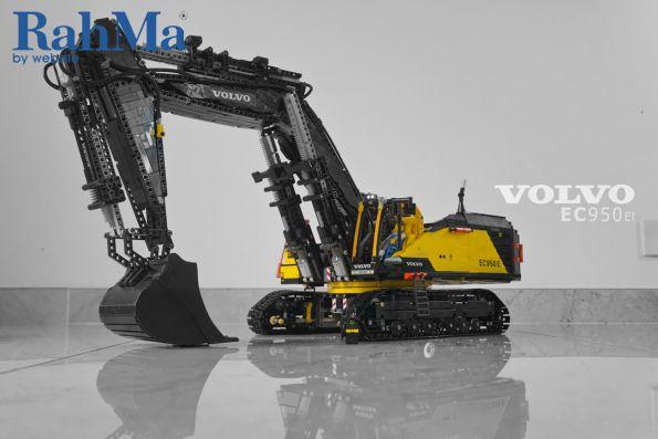 بیل مکانیکی ولوو EC950E