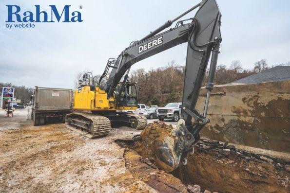 New John Deere 345G LC Excavator