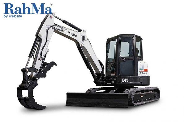 Compact excavator E45