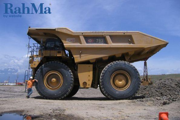 کاترپیلار 5000 امین کامیون معدنی 793 را تولید می کند