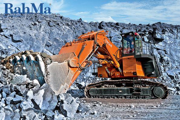 بیل مکانیکی معدنی و شاول هیتاچی EX1200-6