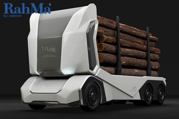 T-Log اولین کامیون تمام برقی و خودران