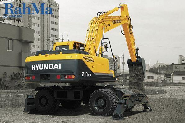 بیل مکانیکی هیوندا مدل R210W-9A