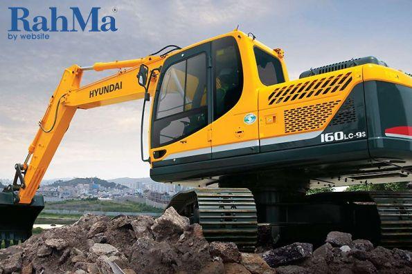 بیل مکانیکی هیوندای R160LC-9A معرفی شد