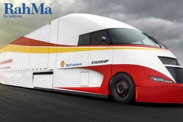 کامیون های خورشیدی شل