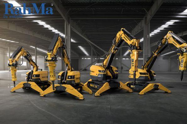 بزرگترین ربات در تاریخ Brokk راه اندازی می شود