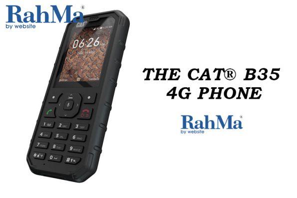 گوشی هوشمند کاترپیلار CAT B35 4G