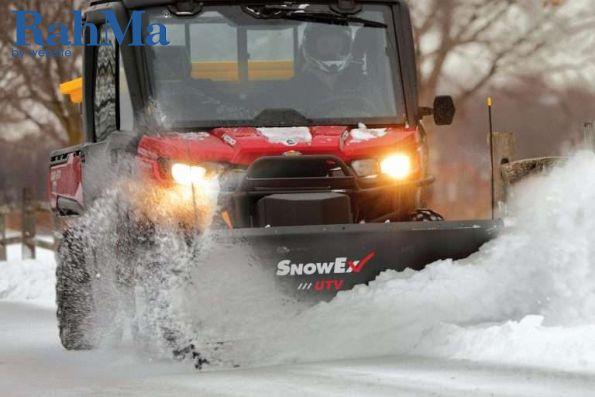 UTV خود را به یک برف روب جدید با تیغه SnowEx تبدیل کنید.