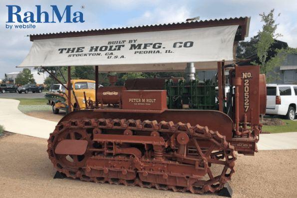 هولت میزبان نمایشگاه ملی ماشین های عتیقه کاترپیلار