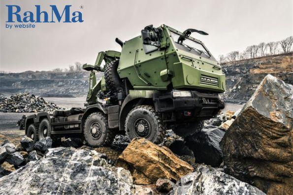 کامیون جنگی Mack مدل 8x8 MSVS SMP