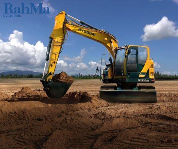 بیل مکانیکی هیوندای مدل HX130LCR