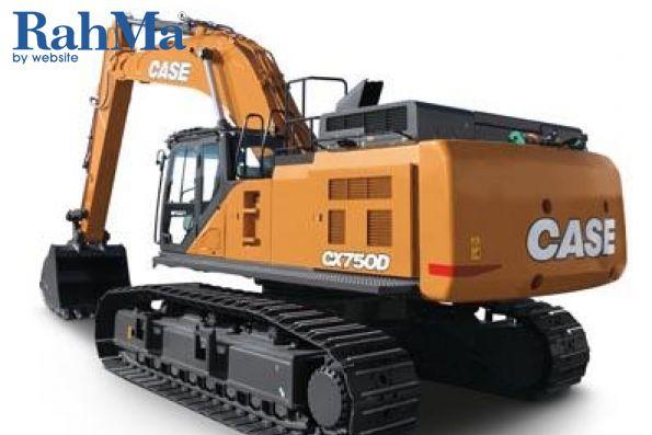بیل مکانیکی هیدرولیکی Case مدل CX750D