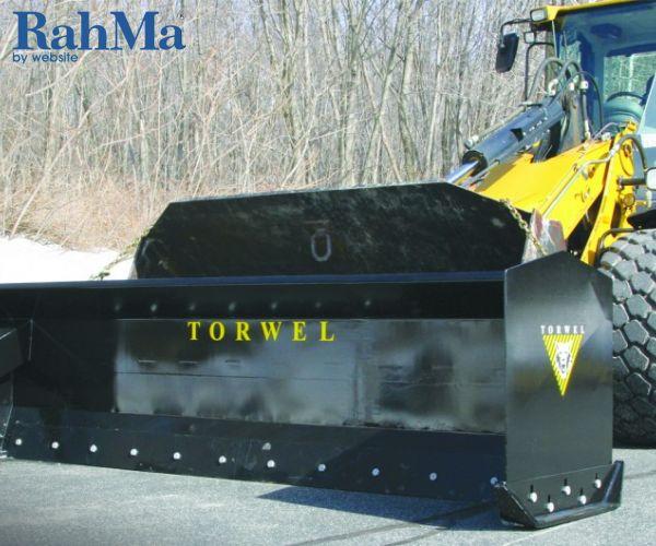 برفهای سنگین را با پوشر برف Torwel کنار بزنید