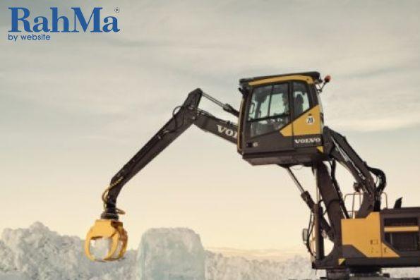 راهکارهای ولوو برای آماده سازی بیل مکانیکی در زمستان