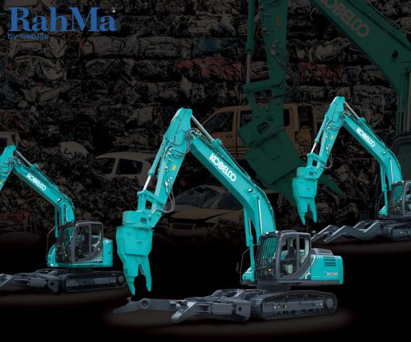 کوبلکو دسته ماشین آلات تخریب و بازسازی شده خود را تقویت می کند