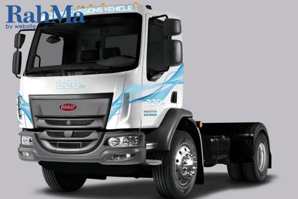 پیتربیلت کامیون متوسط الکتریکی خود را نمایش می دهد
