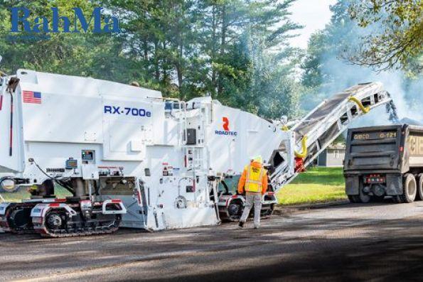 Roadtec قدرت را در ماشین آلات آسفالت سرد و دستگاه های آسفالت تراش خود افزایش می دهد