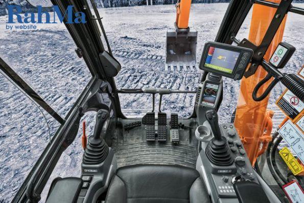 هیتاچی Grade Guidance را  برای بیل های مکانیکی Dash-6 راه اندازی می کند