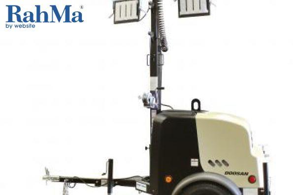 برج های روشنایی قابل حمل دوسان مدل LCV6 و LCV8