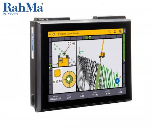 سیستم کنترل دستگاه Groundworks  تریمبل